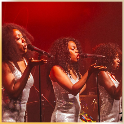 Our immersive intermission soulful girl group the Disco Soul Queens are truly women with SOUL! This dynamic trio get all the ladies in the room up and dancing and know teach the men some R E S P E C T!   Instagram: discosoulqueens/ Facebook: discosoulqueens/